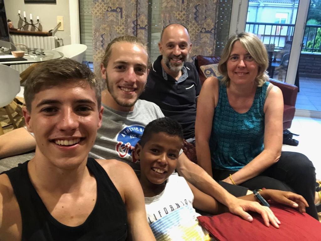 Vacances en Pau. Família Farré-Masgrau