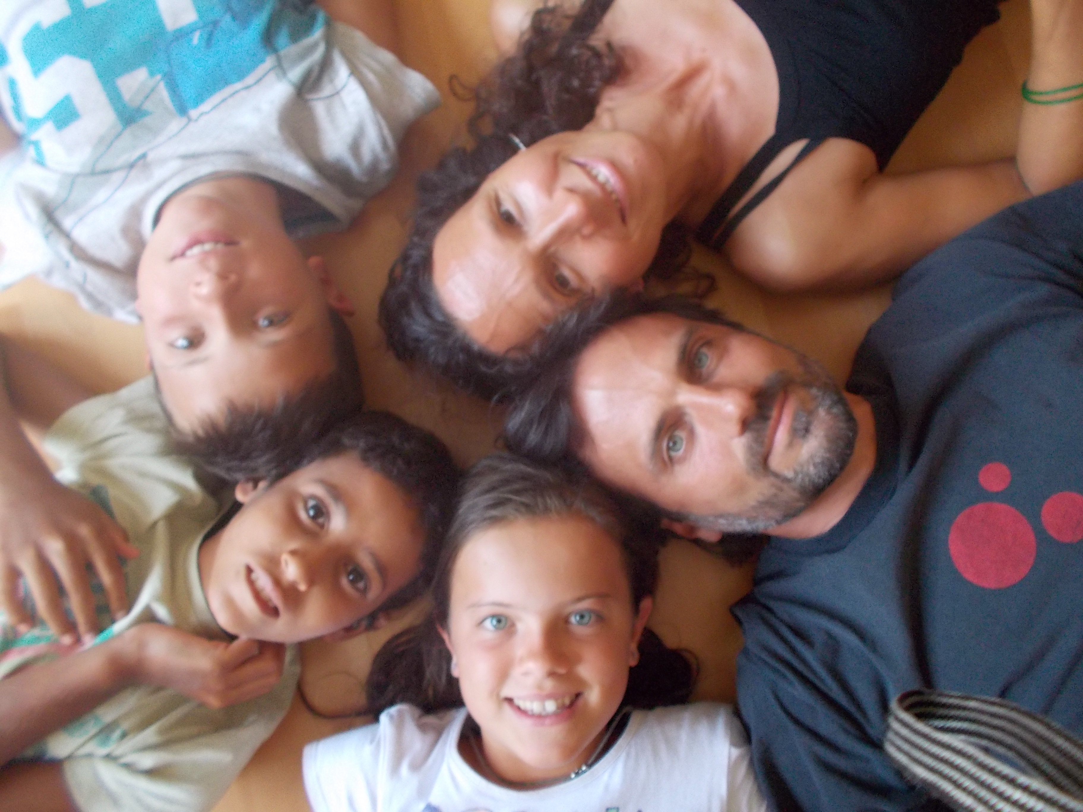 Vacances en pau. Família Carpena-Virgos